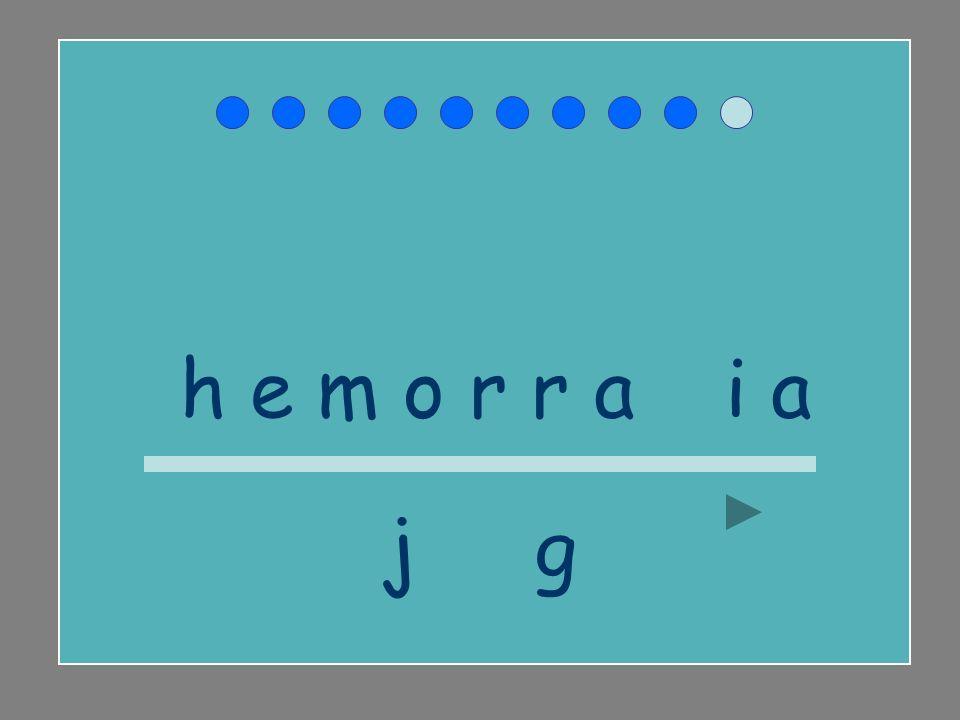 h e m o r r a g i a j g
