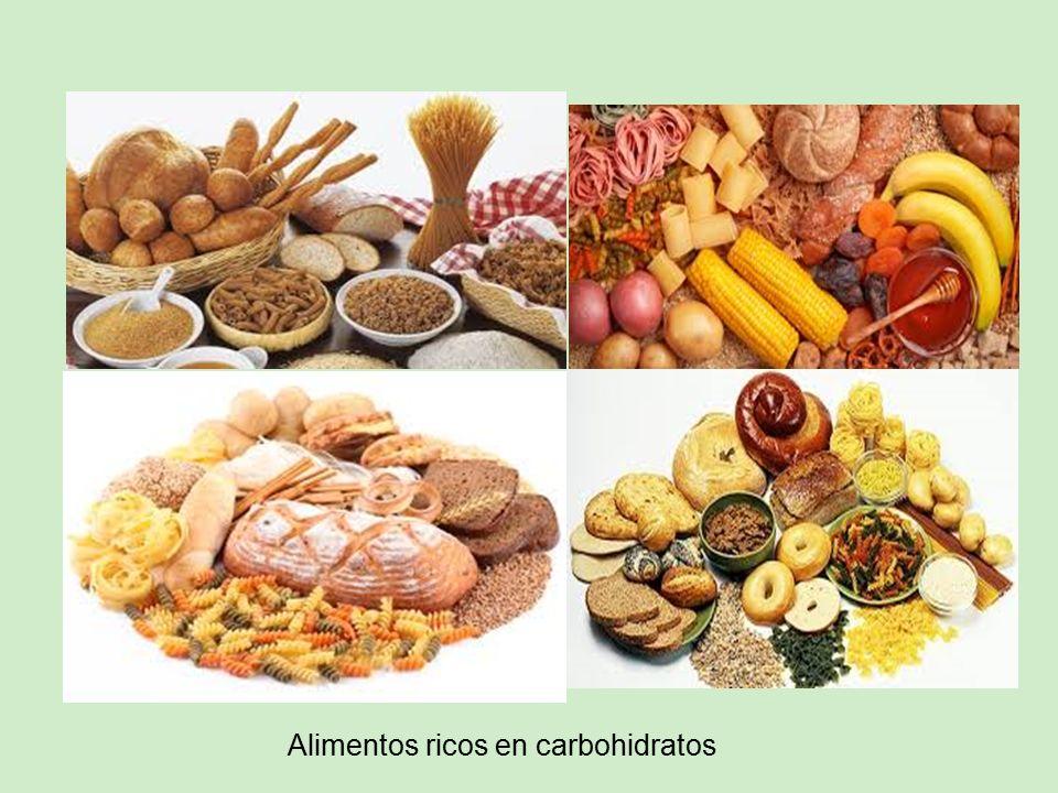 Semana 25 carbohidratos monosac ridos ppt descargar - Alimentos ricos en carbohidratos ...