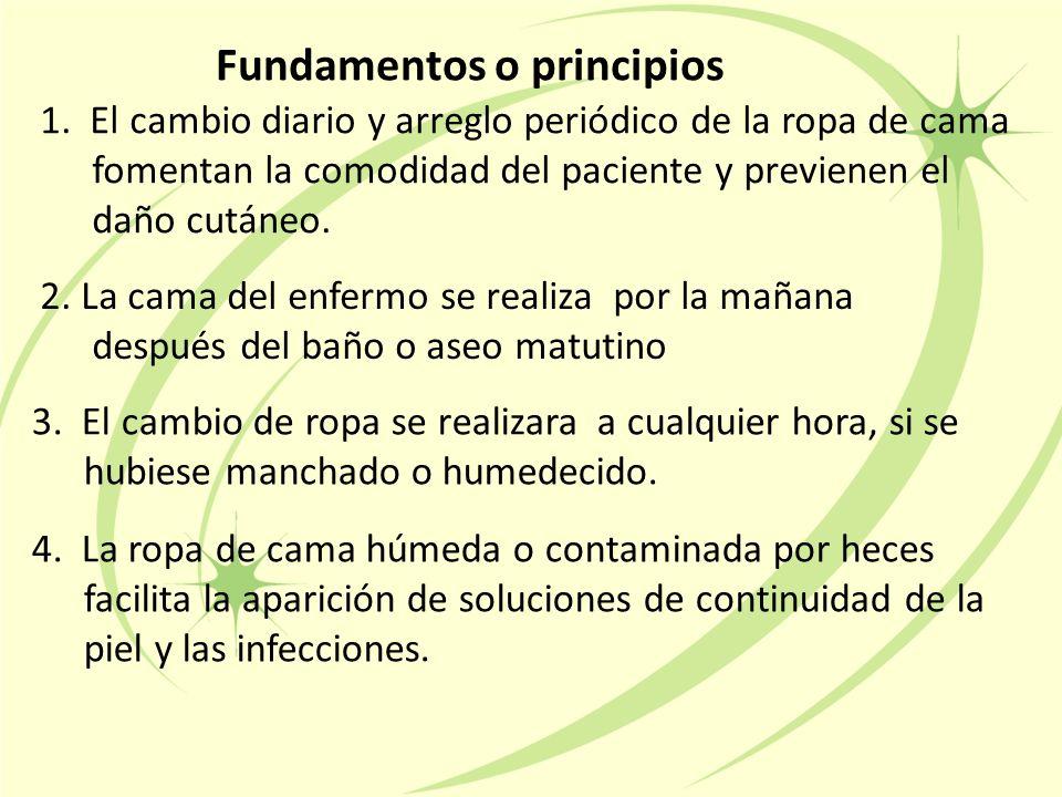 Fundamentos o principios