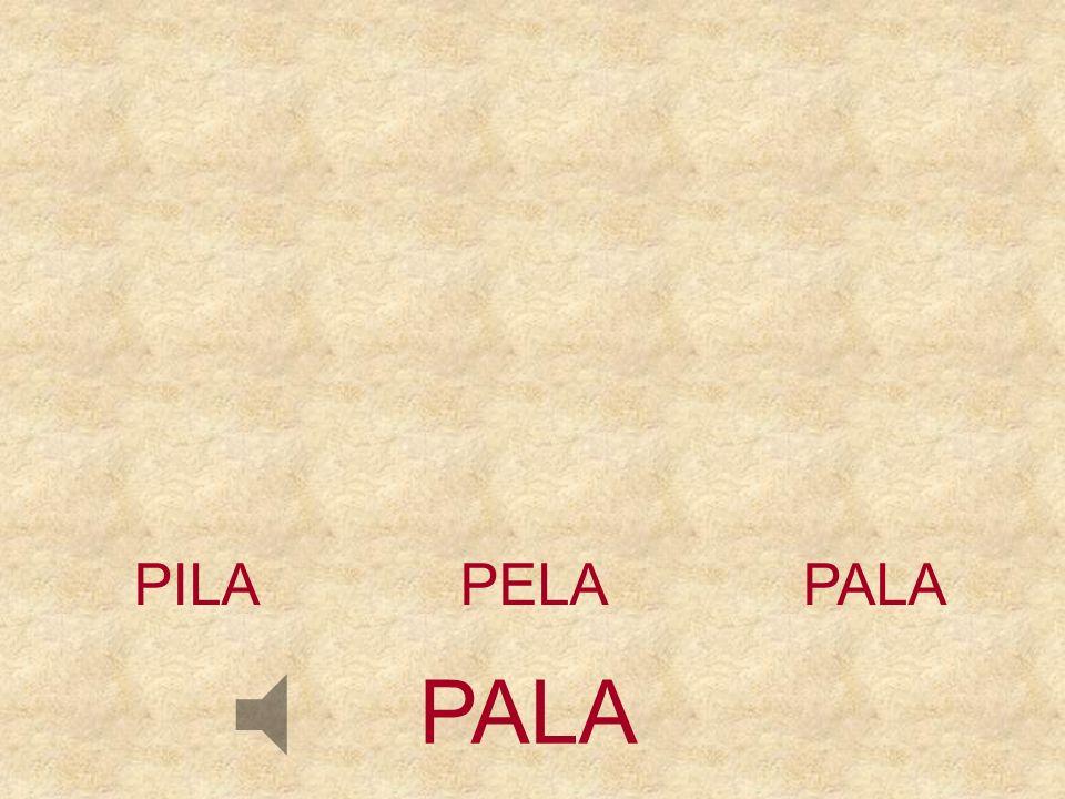 PILA PELA PALA PALA