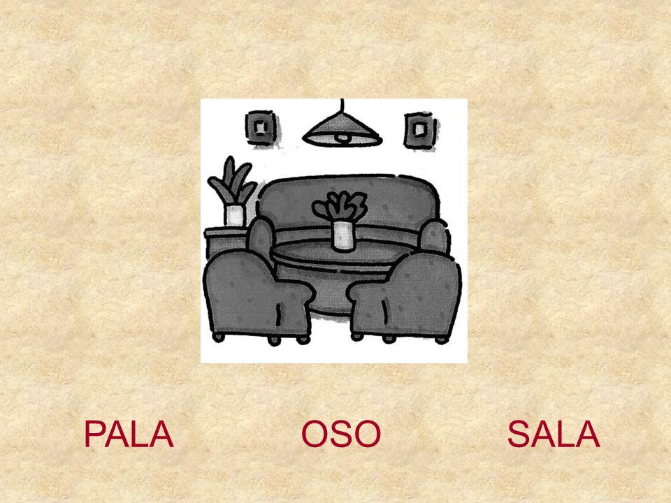 PALA OSO SALA