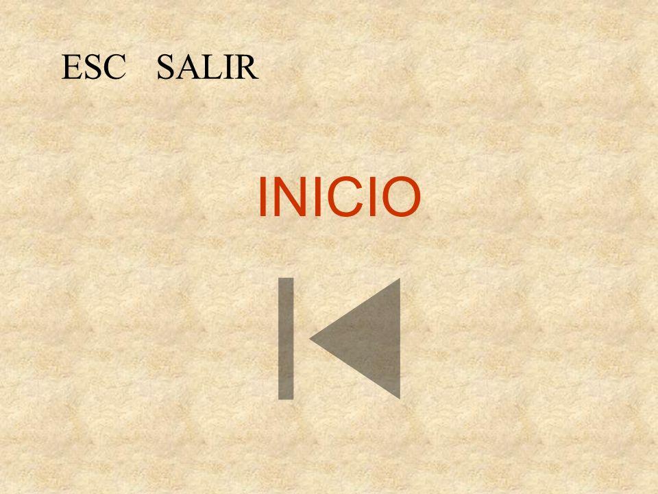 ESC SALIR INICIO