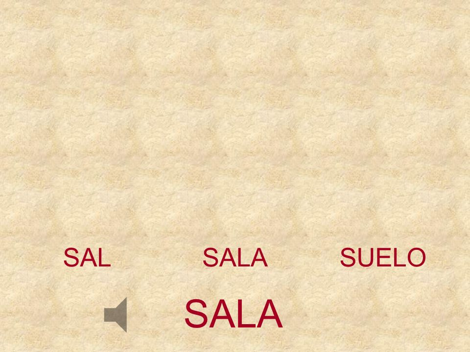 SAL SALA SUELO SALA