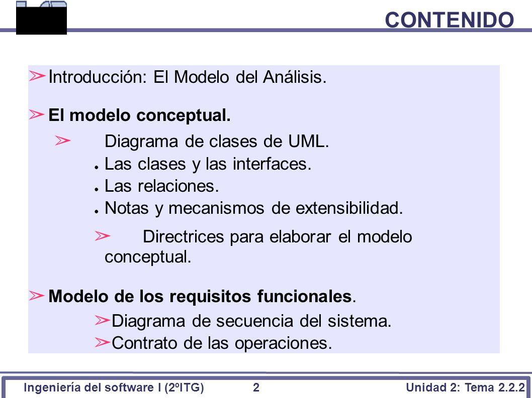 Tema 2.2.2: Modelo del Análisis - ppt descargar