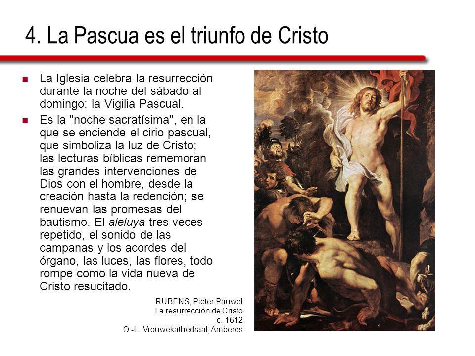 4. La Pascua es el triunfo de Cristo