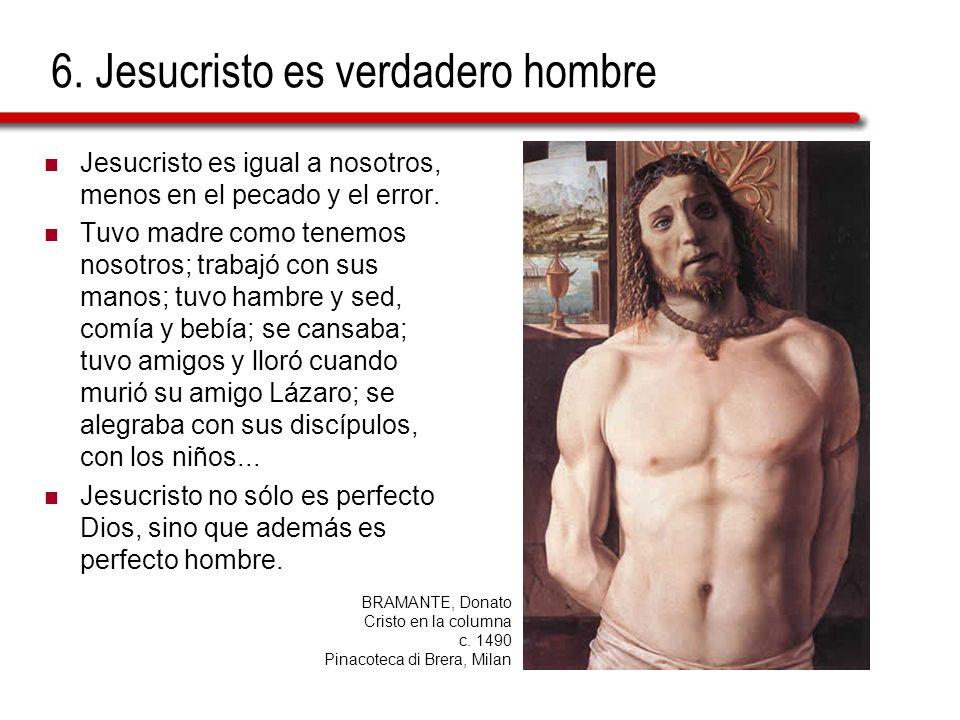 6. Jesucristo es verdadero hombre