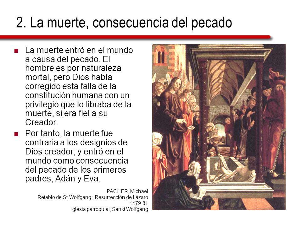 2. La muerte, consecuencia del pecado