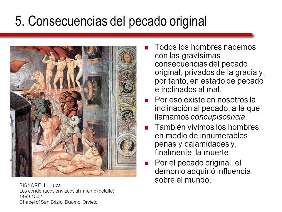 5. Consecuencias del pecado original