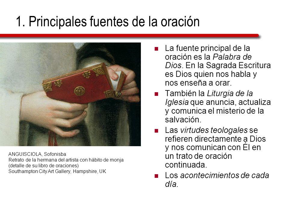 1. Principales fuentes de la oración