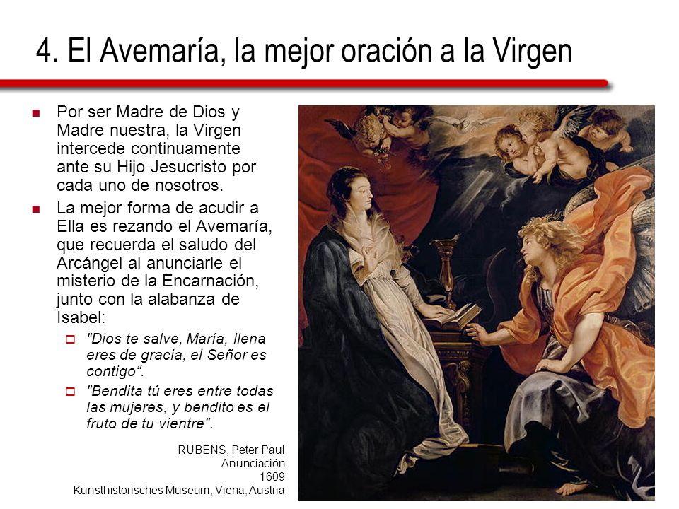 4. El Avemaría, la mejor oración a la Virgen