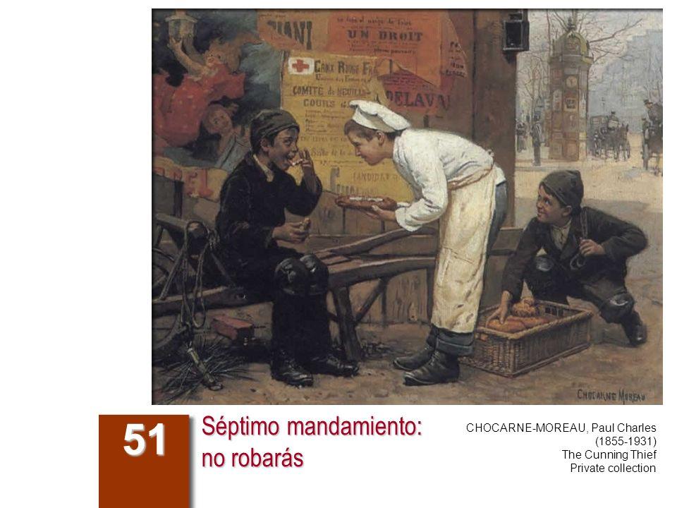 Séptimo mandamiento: no robarás