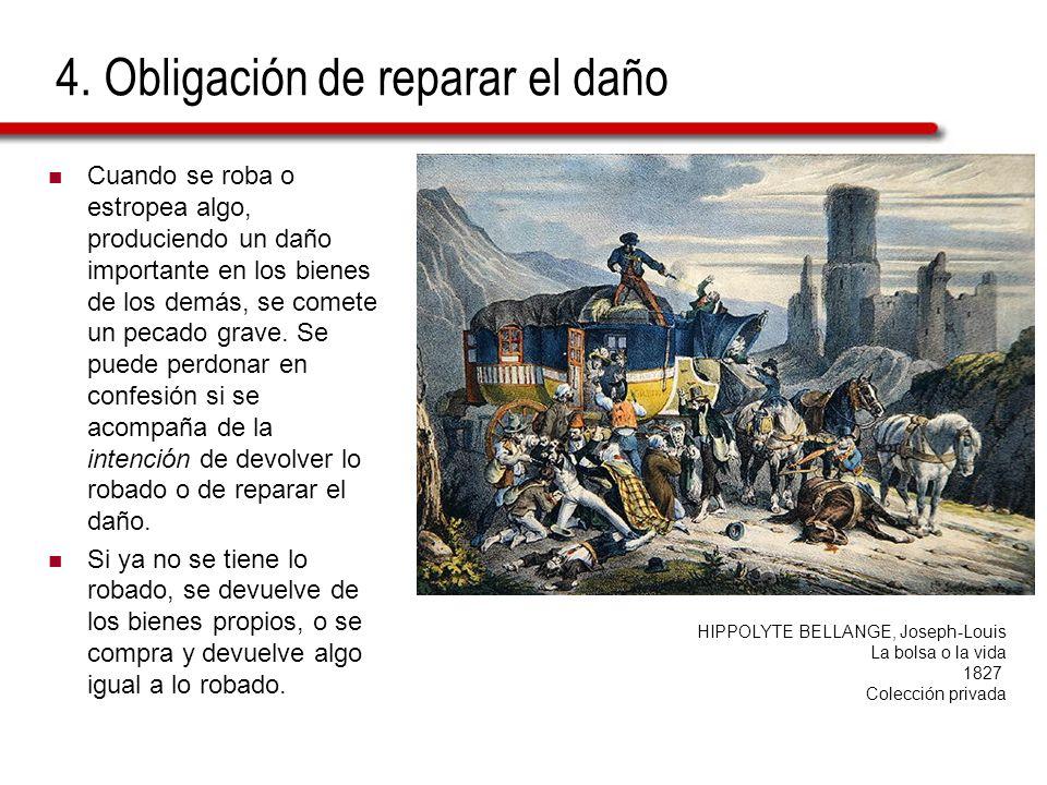 4. Obligación de reparar el daño