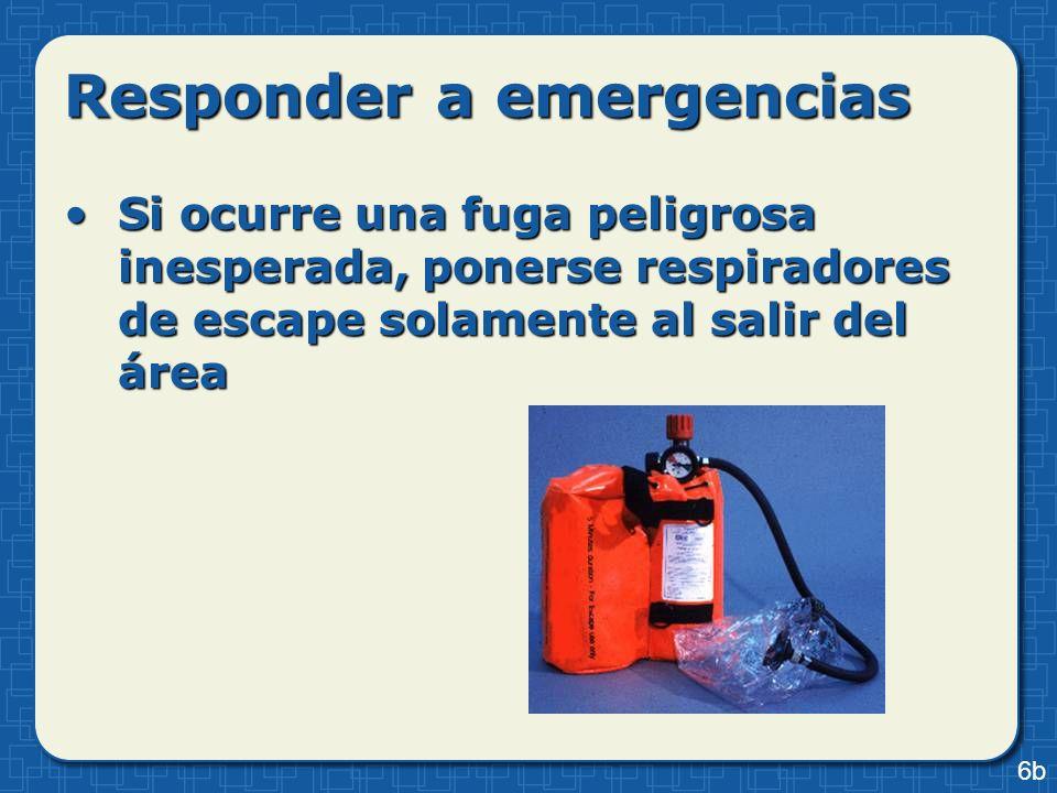 Responder a emergencias