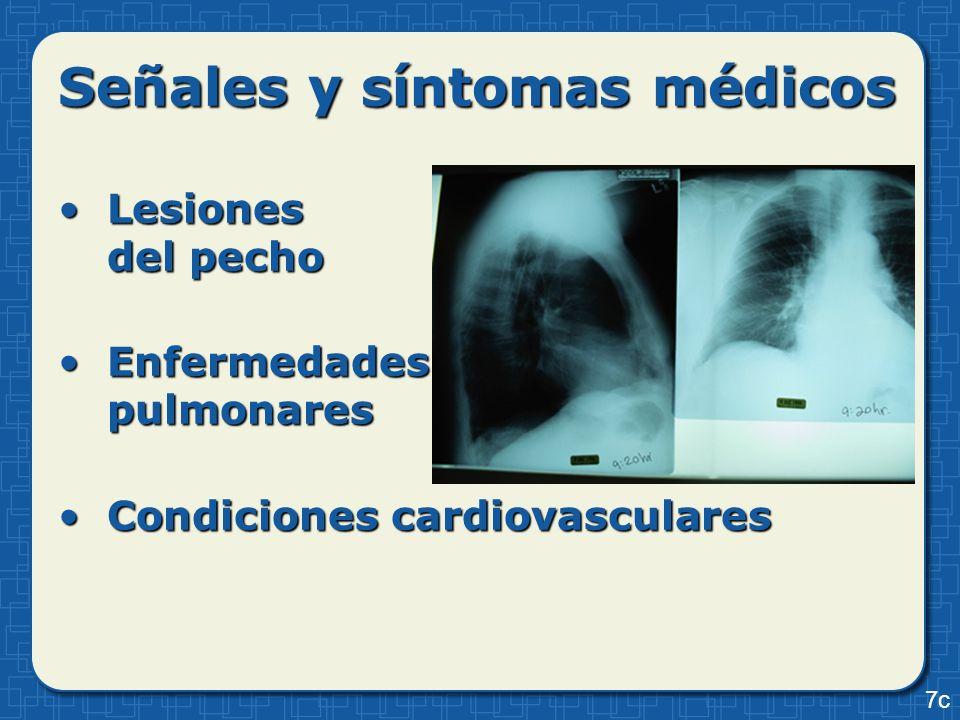 Señales y síntomas médicos