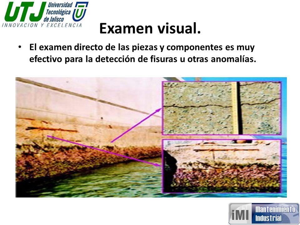 Examen visual.