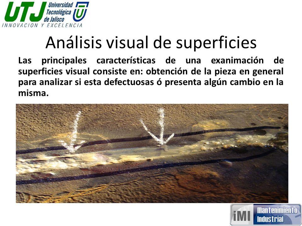 Análisis visual de superficies