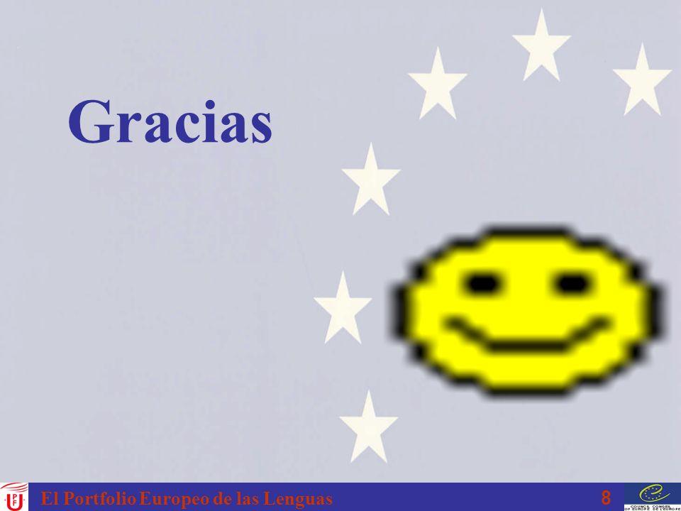 Gracias El Portfolio Europeo de las Lenguas