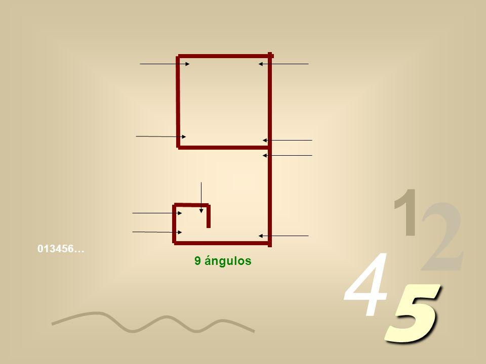1 2 4 013456… 5 9 ángulos