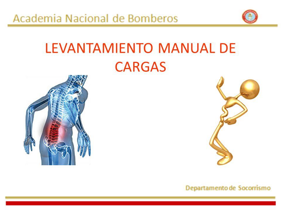 LEVANTAMIENTO MANUAL DE CARGAS