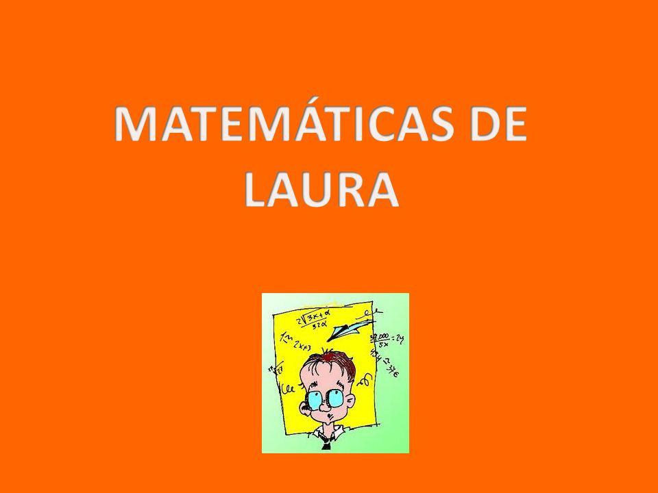 MATEMÁTICAS DE LAURA