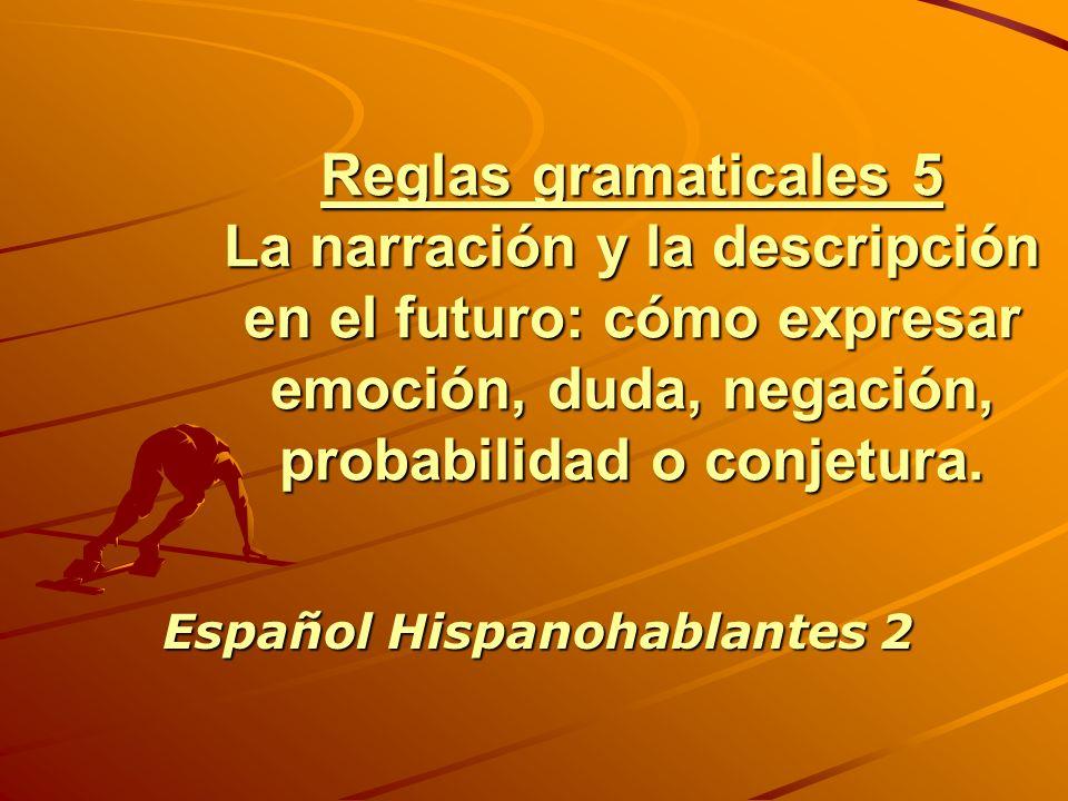 Español Hispanohablantes 2