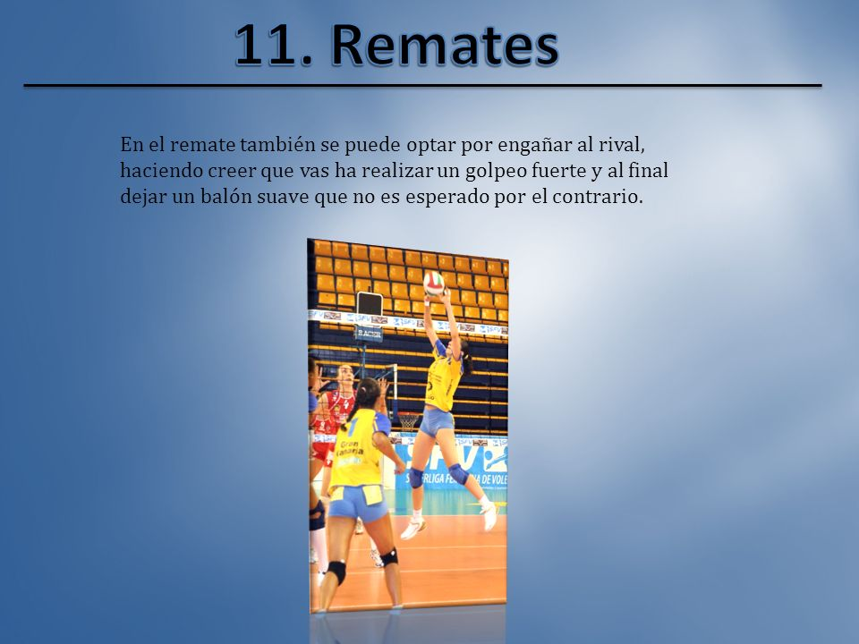 11. Remates