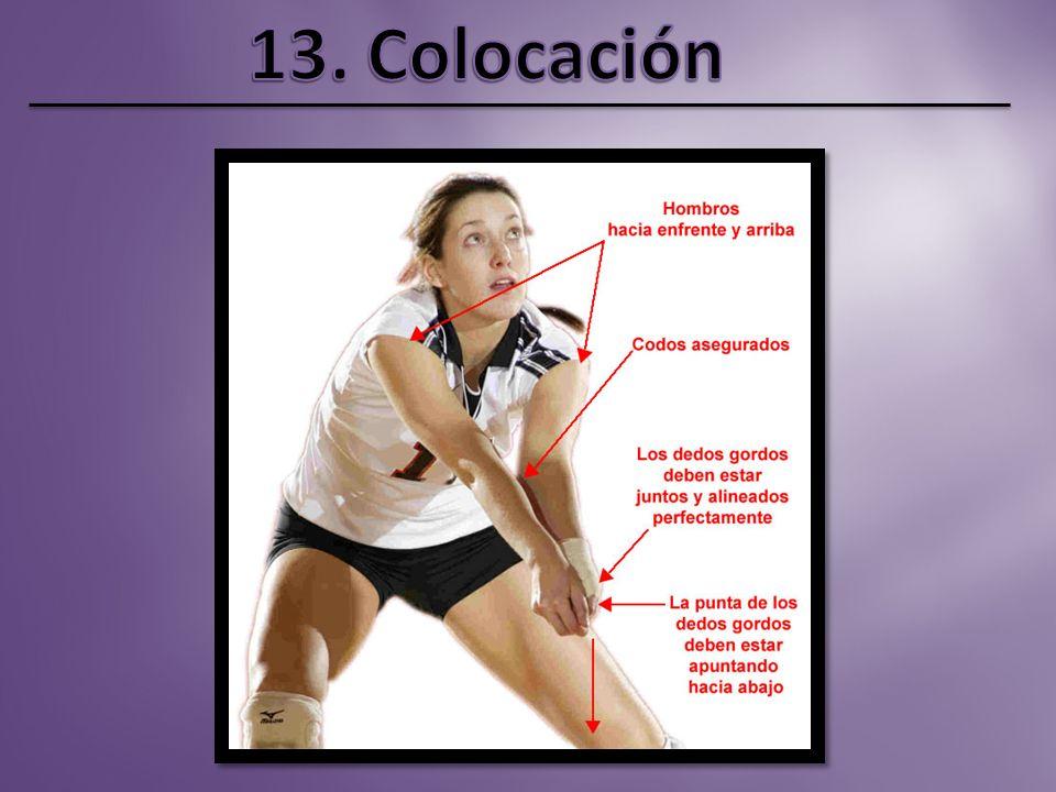 13. Colocación