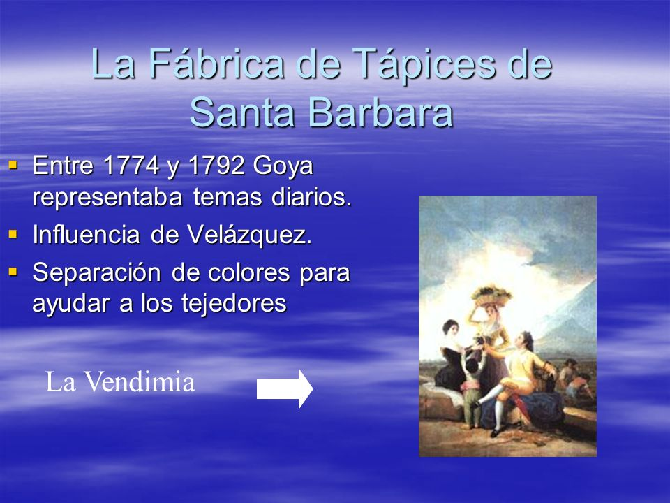 La Fábrica de Tápices de Santa Barbara