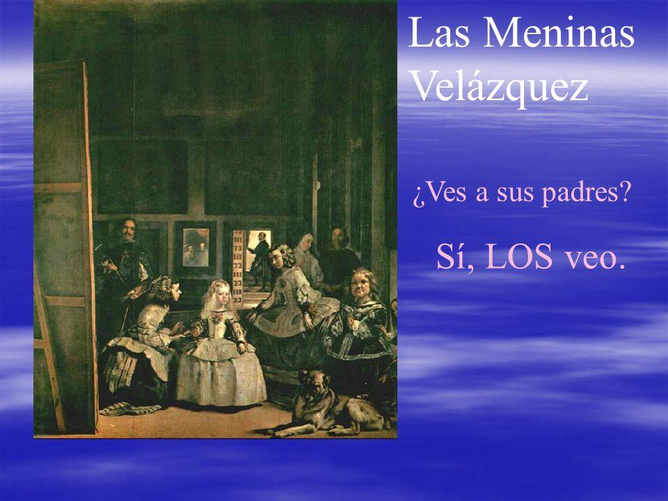Las Meninas Velázquez Sí, LOS veo. ¿Ves a sus padres