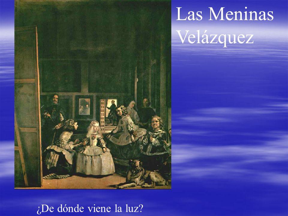 Las Meninas Velázquez ¿De dónde viene la luz