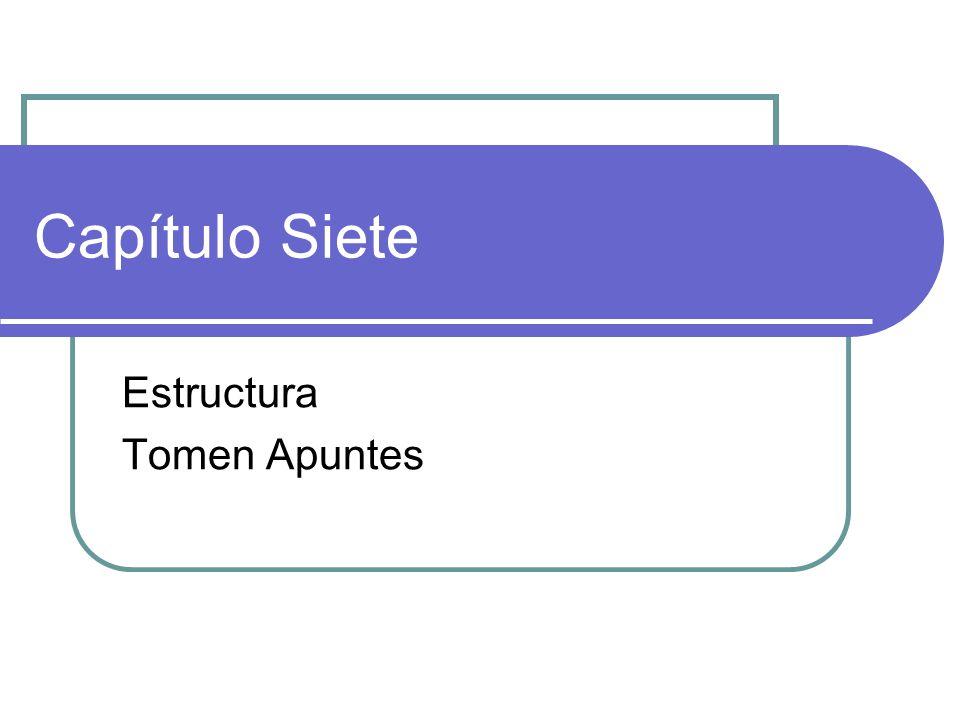 Estructura Tomen Apuntes
