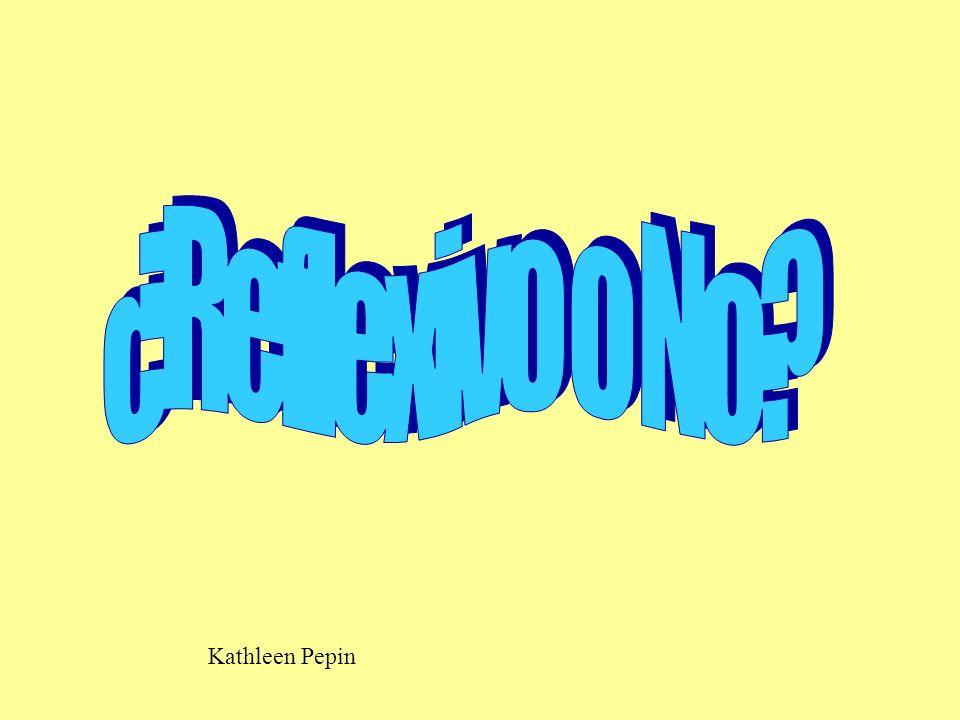 ¿Reflexivo o No Kathleen Pepin