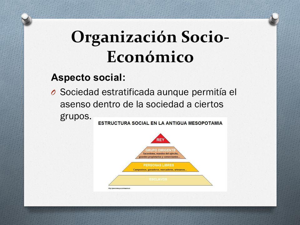 Organización Socio-Económico