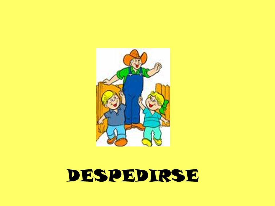 DESPEDIRSE