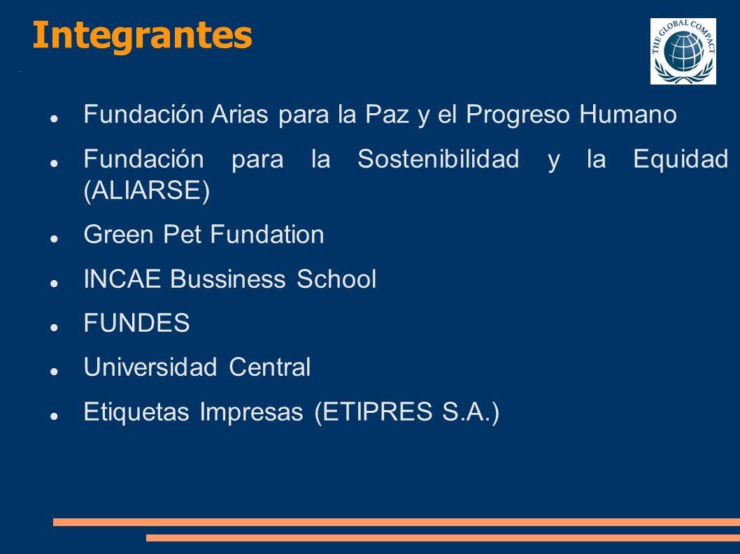 Integrantes Fundación Arias para la Paz y el Progreso Humano