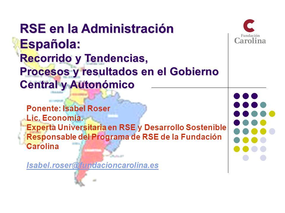RSE en la Administración Española: