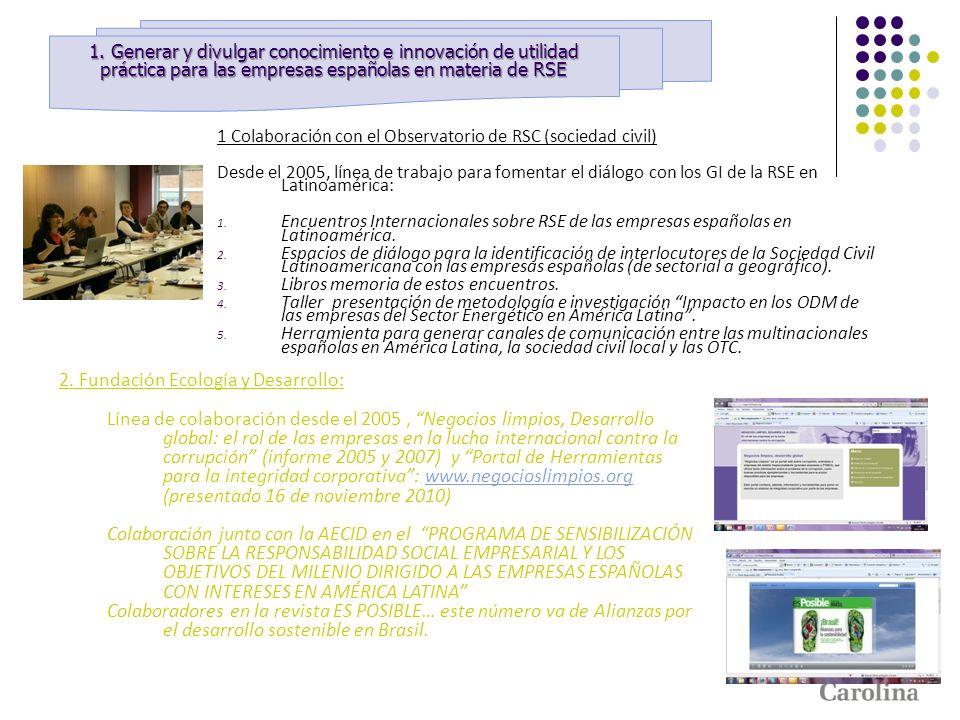 2. Fundación Ecología y Desarrollo: