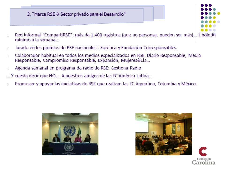 3. Marca RSE Sector privado para el Desarrollo