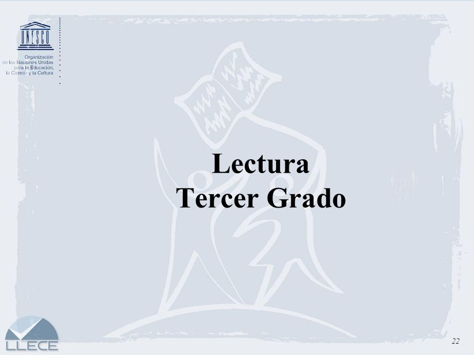 Lectura Tercer Grado