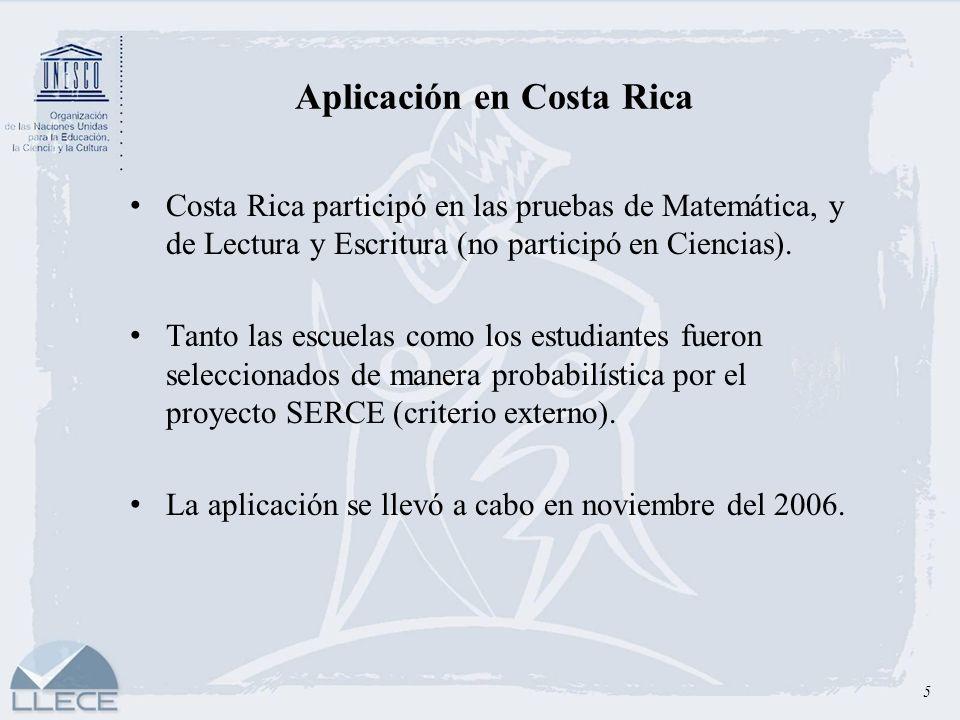 Aplicación en Costa Rica