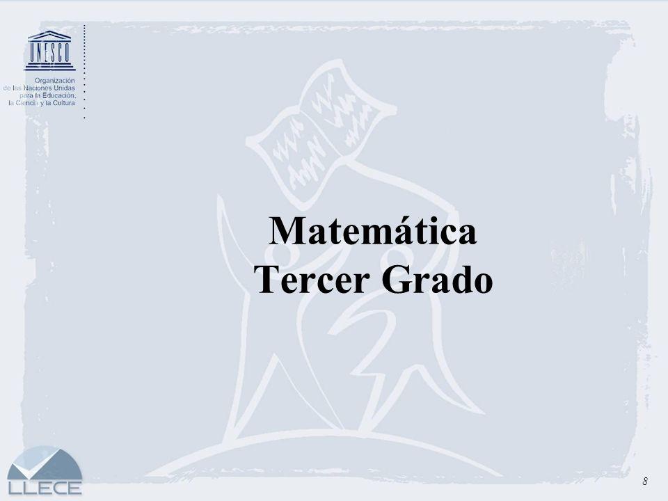 Matemática Tercer Grado
