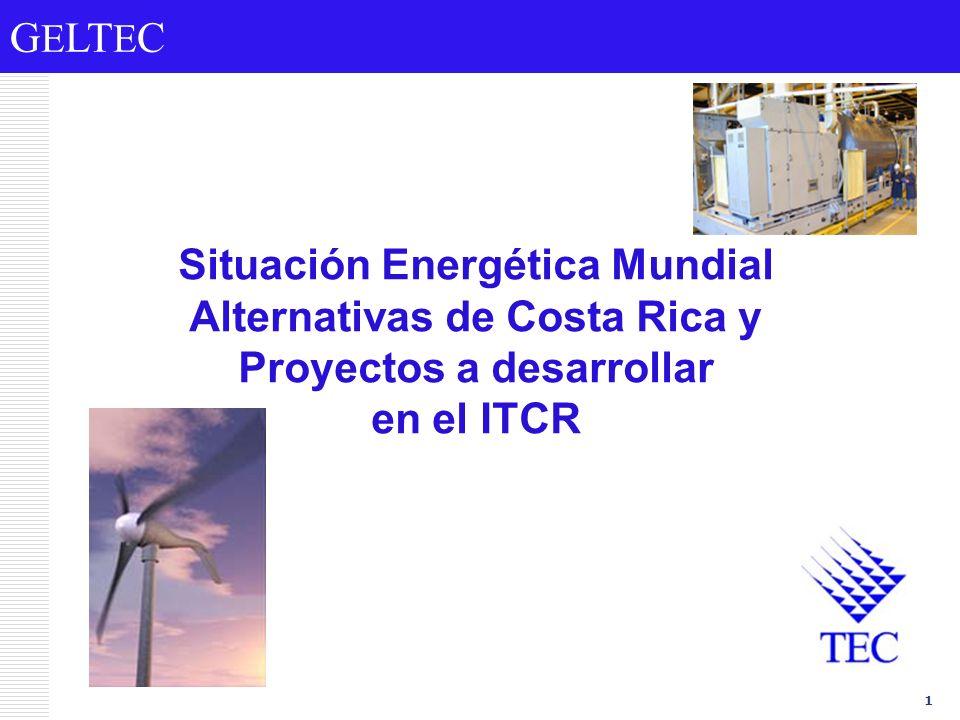 Situación Energética Mundial Alternativas de Costa Rica y