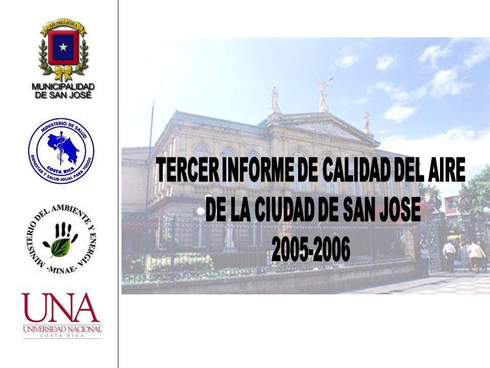 TERCER INFORME DE CALIDAD DEL AIRE TERCER INFORME DE CALIDAD DEL AIRE