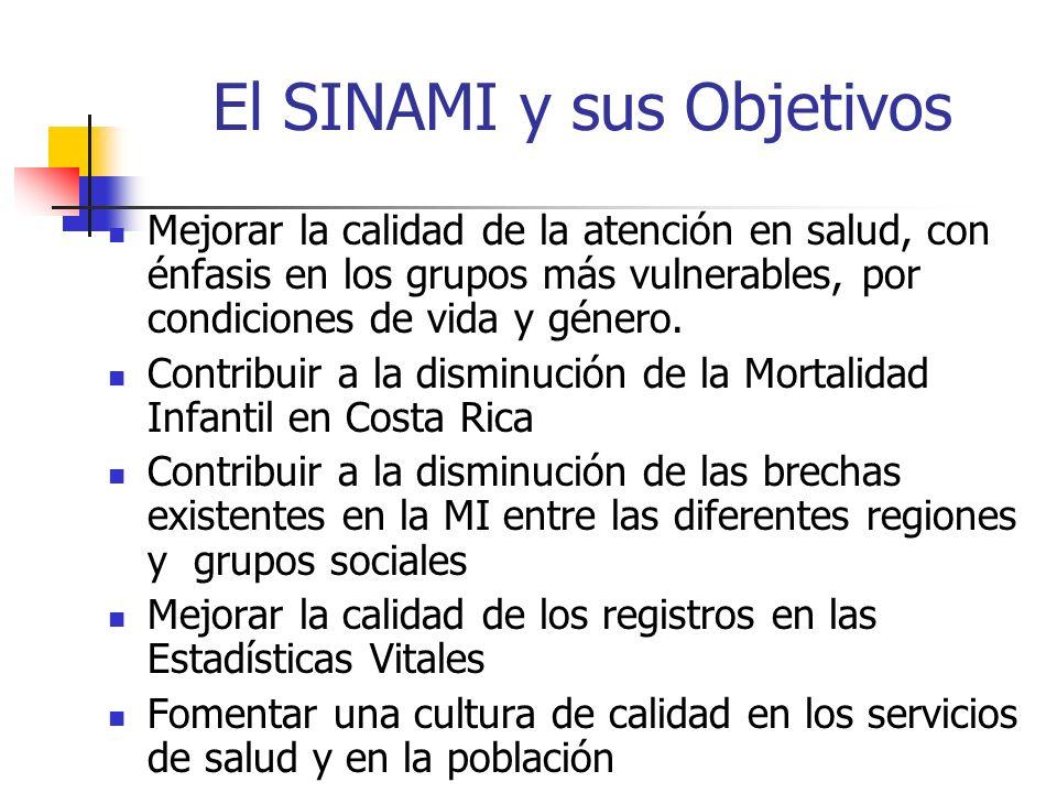El SINAMI y sus Objetivos