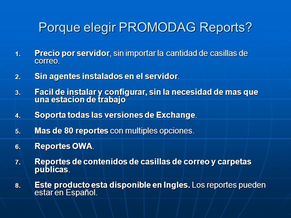 Porque elegir PROMODAG Reports
