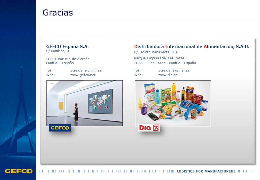 Gracias GEFCO España S.A.
