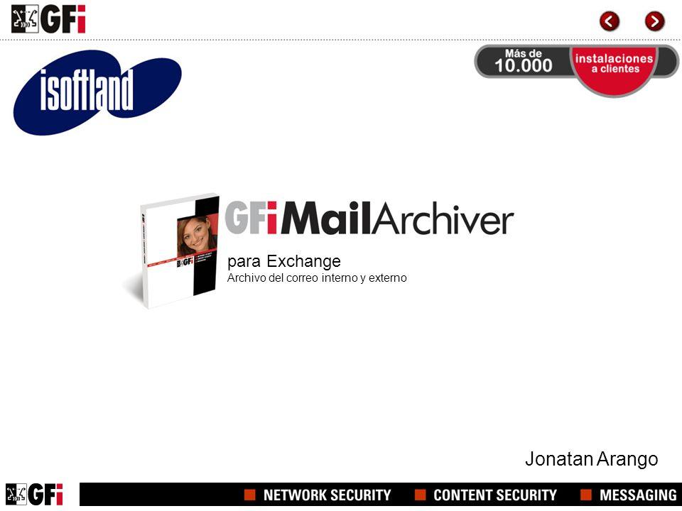 para Exchange Archivo del correo interno y externo
