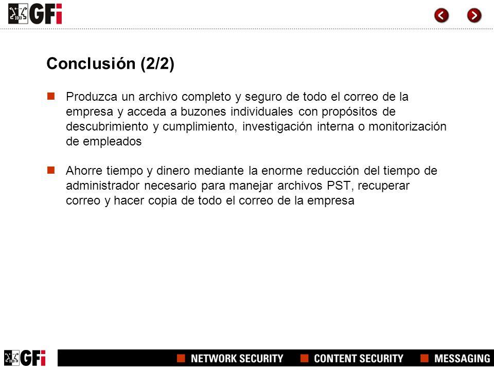 Conclusión (2/2)