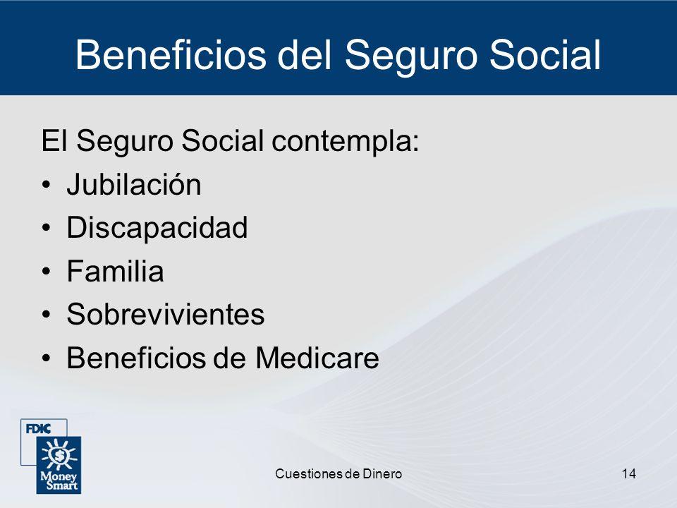 Beneficios del Seguro Social