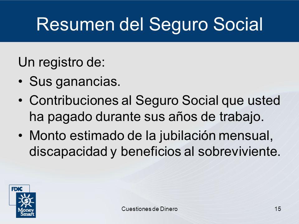 Resumen del Seguro Social